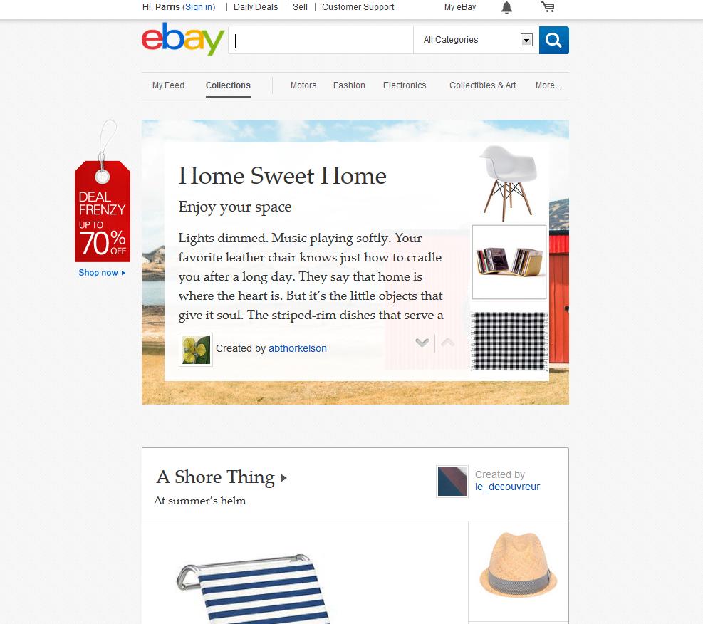 eBay-Site-Example