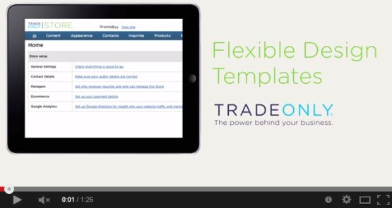Flexible Design Templates Video