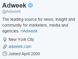 AdWeek Bio
