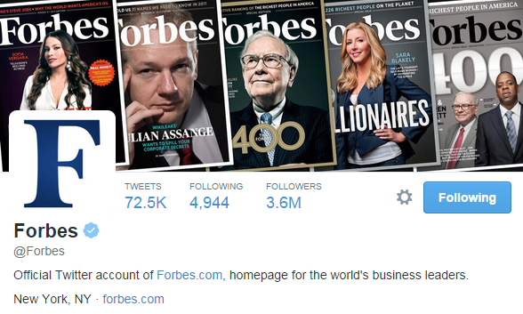 Forbes Cover Photo