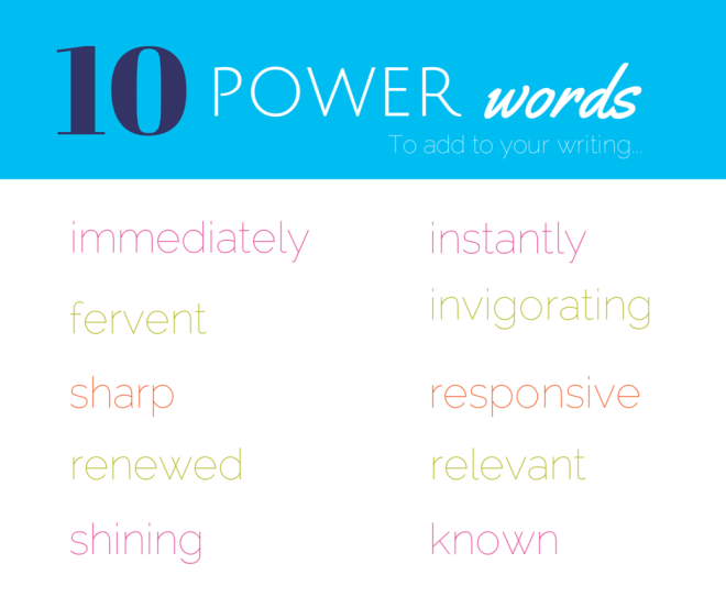 10 Power Words
