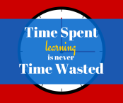 Time Spent Learning is Never Time Wasted