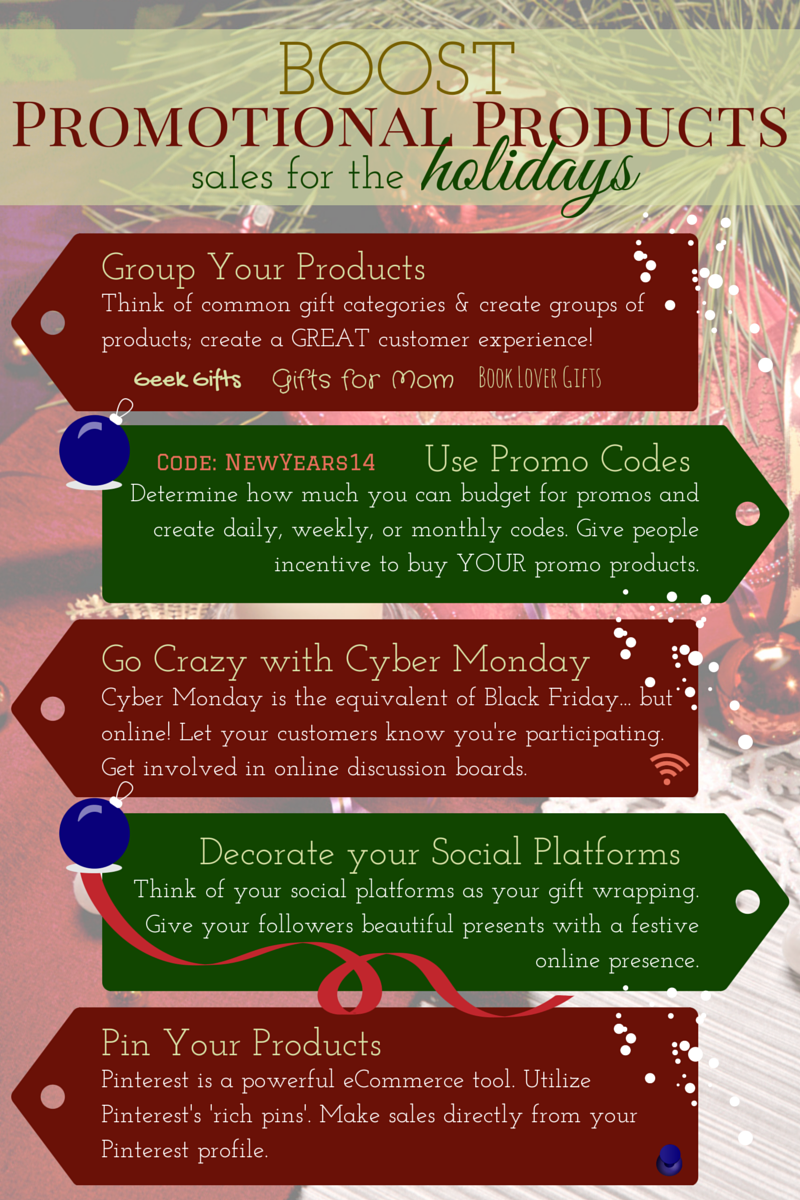 Boost Promotional Products Sales for the Holidays (Infographic)