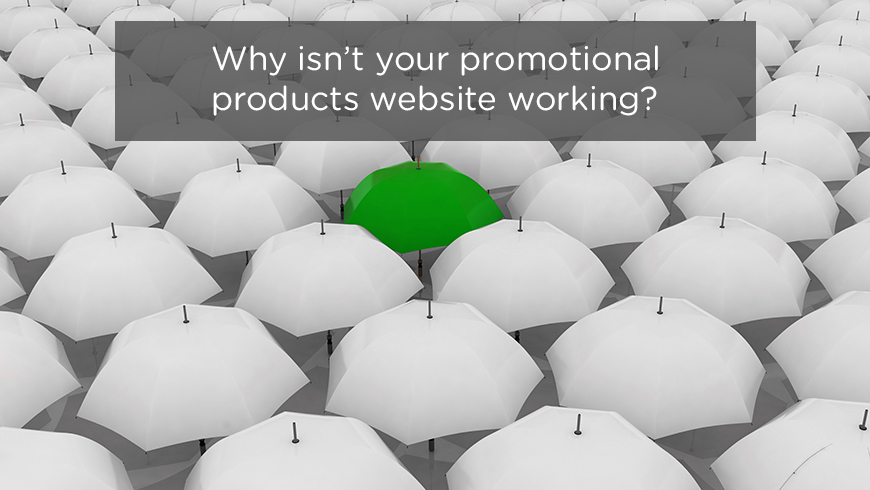 Why isn't your promotional products website working?